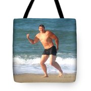 Nels Nilson At The Beach Tote Bag