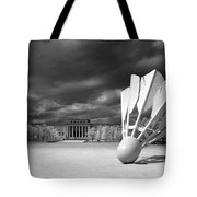 Nelson Akins Art Museum In Infrared Tote Bag