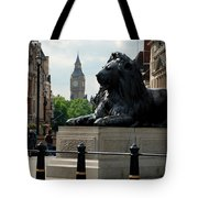 Nelson's Lion Tote Bag
