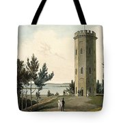 Nelsons Tower, Forres, From A Voyage Tote Bag