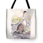 Nene -hawaiian Goose Tote Bag