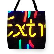 Neon Beer Sign - Extra Tote Bag