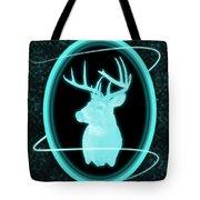 Neon Buck Tote Bag