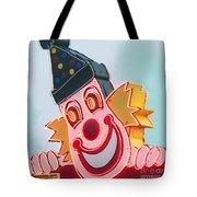 Neon Clown Tote Bag