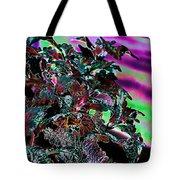 Neon Coleus Tote Bag