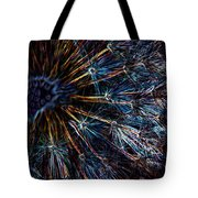 Neon Dandelion Tote Bag