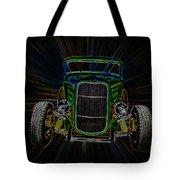 Neon Deuce Coupe Tote Bag
