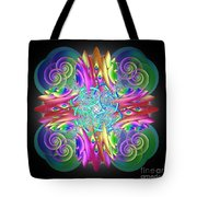 Neon Dreams Tote Bag