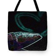 Neon Heart Tote Bag