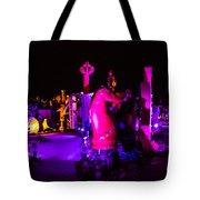 Neon Landscape Tote Bag