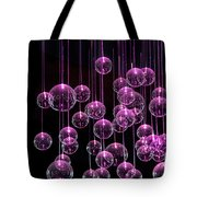 Neon  Nights Tote Bag