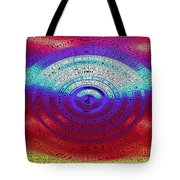 Neon Water Puddle Tote Bag