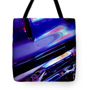 Neon Reflections - Ford V8 Pickup Truck -1044c Tote Bag