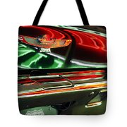 Neon Reflections Tote Bag