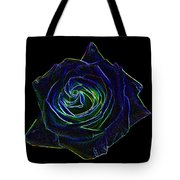 Neon Rose 5 Tote Bag