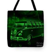 Neon Splitty Tote Bag