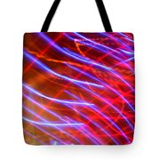 Neon Swell Tote Bag