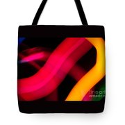 Neon Worms Tote Bag