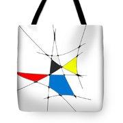 neoplasticism 11 IV Tote Bag