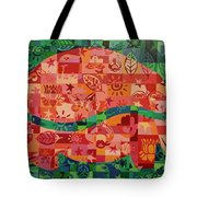 Nepalese Elephant Tote Bag