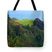 Nepenthe View At Big Sur In California Tote Bag
