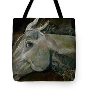 Nephrite's Horses On Stairs Tote Bag