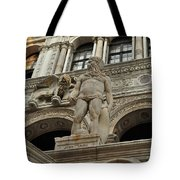 Neptune And The Lion Atop The Giants Staircase Tote Bag