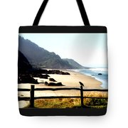 Neptune Beach Crow Tote Bag