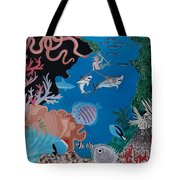 Neptune Spot And Fifi Tote Bag by Anthony Morris