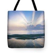 Neptune Step. Tote Bag by Sean Davey