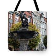 Neptune's Fountain - Gdansk Tote Bag