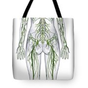 Nervous System, Illustration Tote Bag