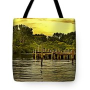 Neshaminy State Park Tote Bag by Tom Gari Gallery-Three-Photography
