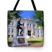 Ness County Courthouse In Kansas Tote Bag
