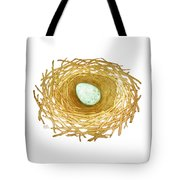 Nest And Egg Tote Bag