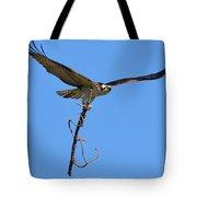 Nest Building Osprey Tote Bag