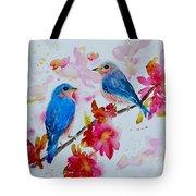 Nesting Pair Tote Bag