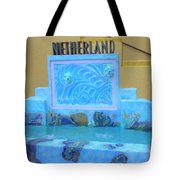 Netherland Fountain Tote Bag