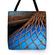 Nets And Knots Number One Tote Bag by Elena Nosyreva
