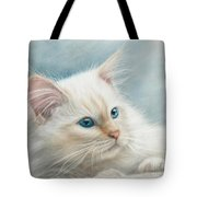 Neva Masquerade Cat Tote Bag
