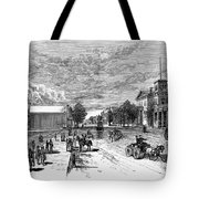 Nevada Carson City Tote Bag