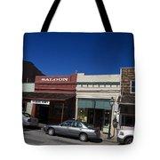 Nevada City California Tote Bag