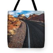 Nevada Highways Tote Bag