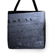Never Forget Tote Bag by Dan Sproul