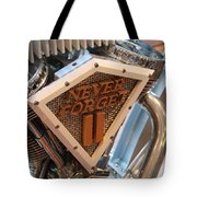 Never Forget Motorcycle Tote Bag