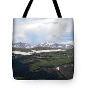 Never Summer Watercolor Tote Bag
