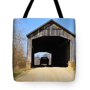 Nevins Covered Bridge Tote Bag