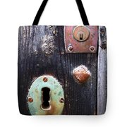 New And Old Locks Tote Bag