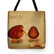 New Arrival. Kiwi Bird - Sweet As - Boy Tote Bag