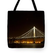 New Bay Bridge Tote Bag by Bill Gallagher